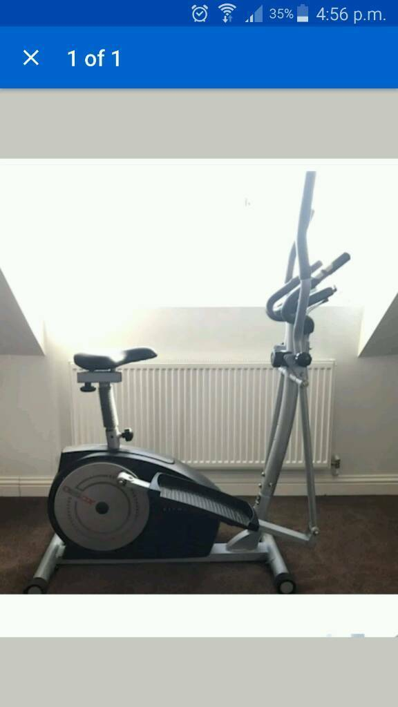 York fitness xc530 cross trainer