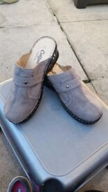 'Cotton Traders' Slip on Mules 2 pairs £30