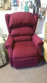 rise recline chair top of the range