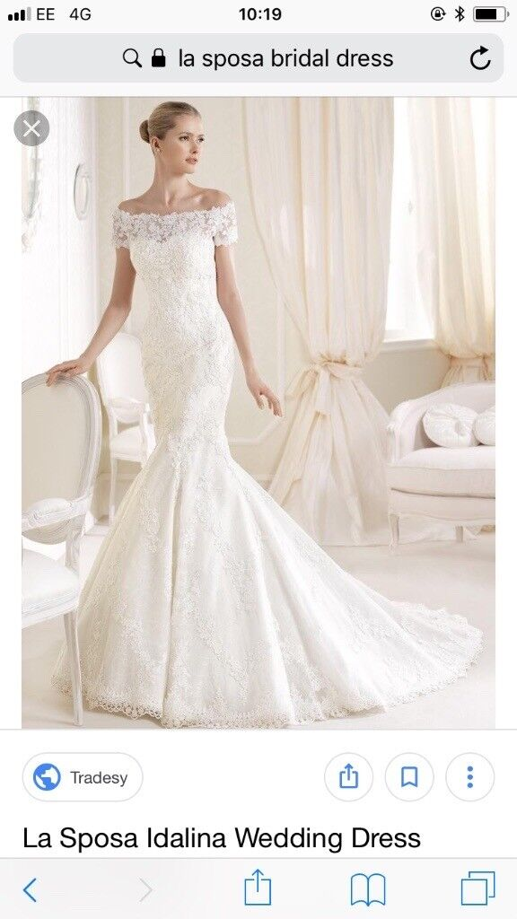 La Sposa Idalina Bridal Dress In Bootle Merseyside Gumtree