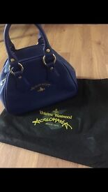 Royal Blue Authentic Vivienne Westwood bag