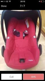 Maxi-Cosy Pebble Baby Car Seat - Intense Red