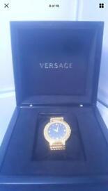 Versace watch 18k Gold men
