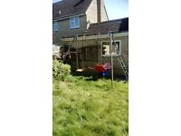 TP Children's garden swing set