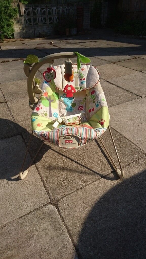 Fisher Price Baby Bouncer With Instructions Fully Washed In