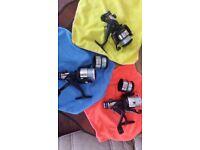 DAIWA REGAL 2550 BR FISHING REELS ×3