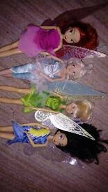 4 Disney fairies