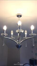 hyperion 5 light chandelier