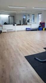 Exercise Studio space