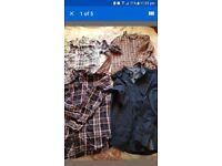 4 Mens Cotton Shirts S