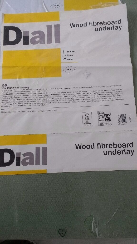 DIALL Laminate & Solid Wood Fibreboard UNDERLAY 9.6M²