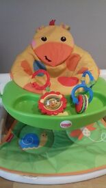 baby seat fisherprice with detachable toys and feeding tray