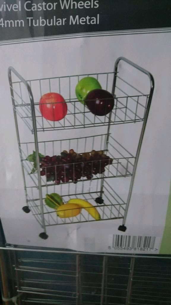 Brand new kitchen trolley