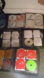 wow!! 450 CD-s with DJ BAG