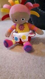 Upsy daisy singing doll.