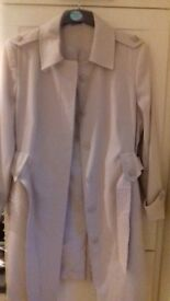 Ladies Beige Raincoat-size 18