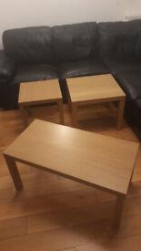 3 IKEA Lack coffee / side tables
