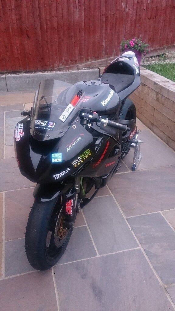 kawasaki zx6r track bike v5 wheel package | in Poole, Dorset | Gumtree