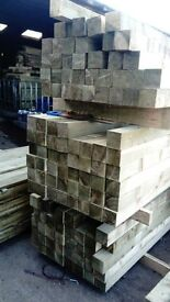 150x150mmx2.4m fence/gate posts pressure treated