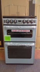 NEWWORLD grey Gas COOKER in new Ex Display