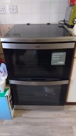 Aeg touch control cooker