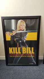 KILL BILL MOVIE QUALITY FRAMED PRINT