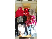 Large selection of girls clothes, shoes, boots ages 6, 7, 8, 9 years