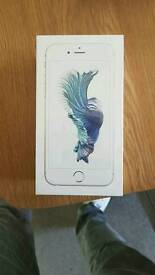 iPhone 6s silver 64gb Brand New in wrapping