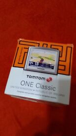 TomTom ONE 3.5 screen Sat Nav with UK and 22 Cauntrys Europe Maps