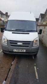 Very clean ford transit drives well lwb highroof top