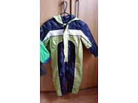 Mothercare Boys All in One Rain Coat Ages 3 to 4