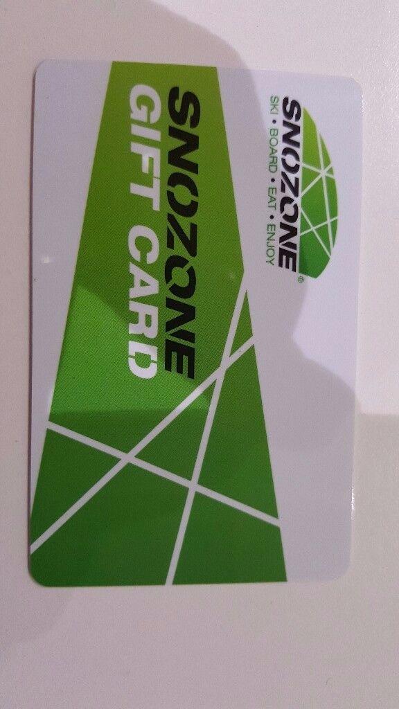 £100 Gift voucher for Snozone