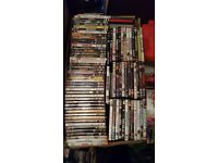 Around 1000 dvds