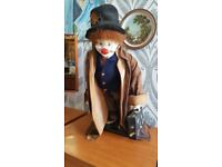 Limited Edition Collectable Hobo Designs Jimmie The Clown 343 / 500