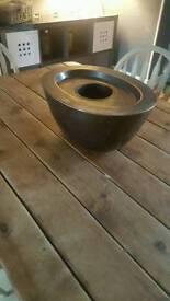 Next copper fire gel bowl
