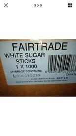 1000 Sachets fair trade sugar