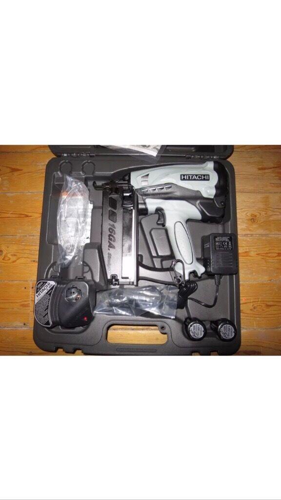 hitachi 2nd fix nail gun. hitachi 2nd fix nail gun 16g l