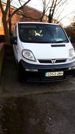 Well maintained Vauxhall Vivaro 2004