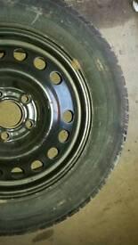 New pirelli tyre n rim