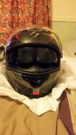 Scorpion exo vision helmet medium size