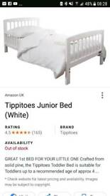 Tippietoes toddler bed