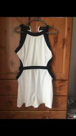 Women's boohoo cut out sides playsuit size 12
