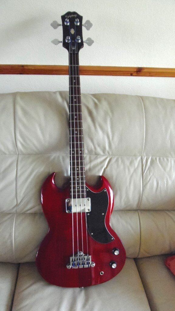 2007 Korean Epiphone Ebo Bass In Great Condition In