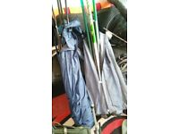 fishing poles whips rods and match gear
