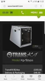 Transk9 Dog Box
