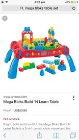 Mega blocks large set
