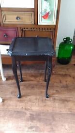 Lovely Small black table