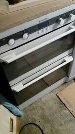 Electrolux built in double oven