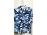 MENS AUTHENTIC SHIRT MADE IN HAWAII 100% COTTON SIZE M