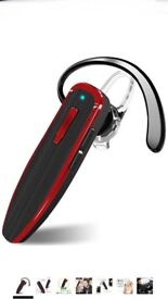 Bluetooth Headset With Noise Cancelling Mic, DISINO Wireless Earbuds With Hands-free Call